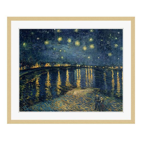 アートプリントジャパン 「The Starry Night 1888」 フレーム/L/木目 1枚