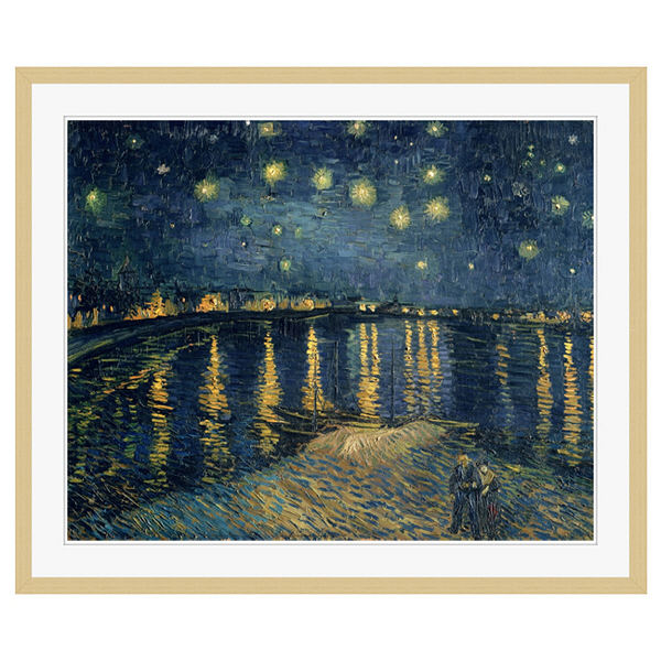 アートプリントジャパン 「The Starry Night 1888」 フレーム/XL/木目 1枚
