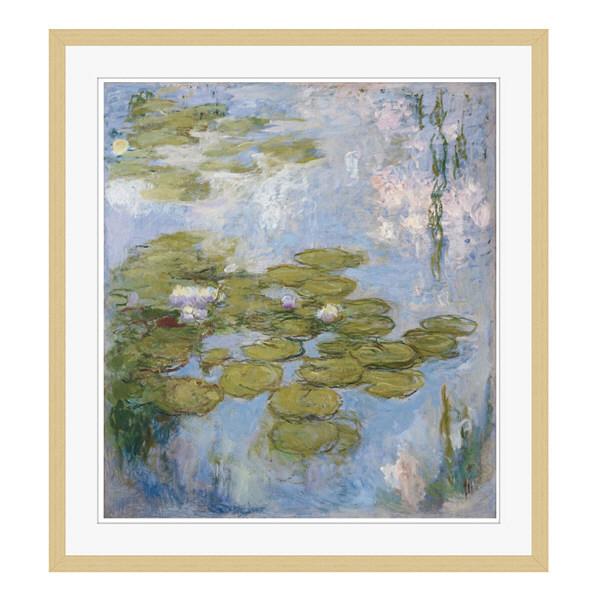 アートプリントジャパン 「Nympheas by Claude Monet」 フレーム/XL/木目 1枚