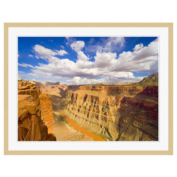 アートプリントジャパン 「Grand Canyon and Colorado River」 フレーム/XL/木目 1枚
