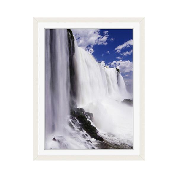 アートプリントジャパン 「イグアスの滝」 フレーム/M/ホワイト 1枚