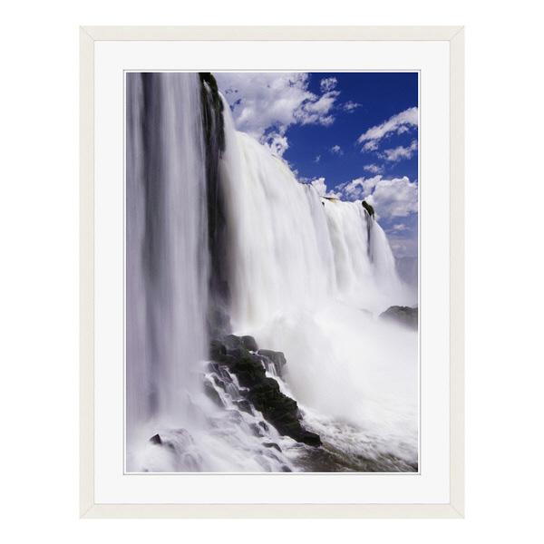 アートプリントジャパン 「イグアスの滝」 フレーム/L/ホワイト 1枚