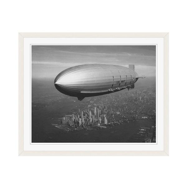 アートプリントジャパン 「ニューヨーク(1930年代)」 フレーム/M/ホワイト 1枚