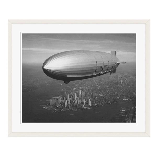 アートプリントジャパン 「ニューヨーク(1930年代)」 フレーム/L/ホワイト 1枚