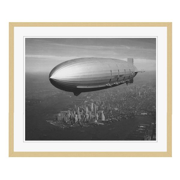 アートプリントジャパン 「ニューヨーク(1930年代)」 フレーム/L/木目 1枚