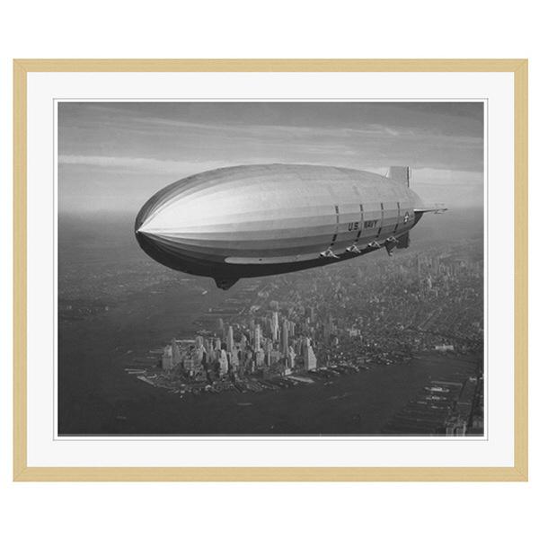 アートプリントジャパン 「ニューヨーク(1930年代)」 フレーム/XL/木目 1枚