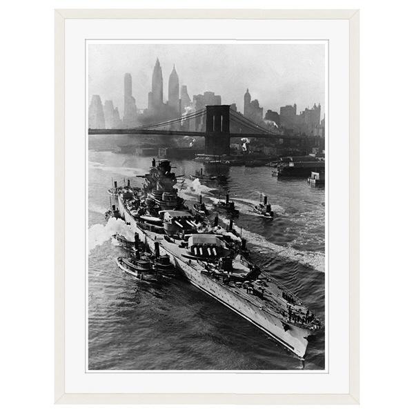 アートプリントジャパン 「ニューヨーク(1943年5月27日)」 フレーム/XL/ホワイト 1枚