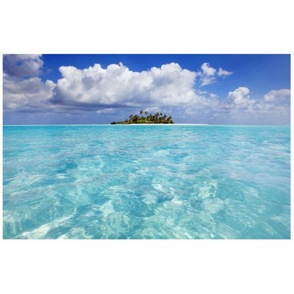 アートプリントジャパン 「South Male Atoll in the Maldives」 キャンバス/L 1枚