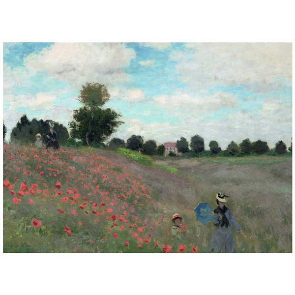 アートプリントジャパン 「Wild by Claude Monet」 キャンバス/XL 1枚