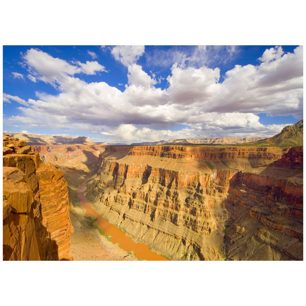 アートプリントジャパン 「Grand Canyon and Colorado River」 キャンバス/S 1枚