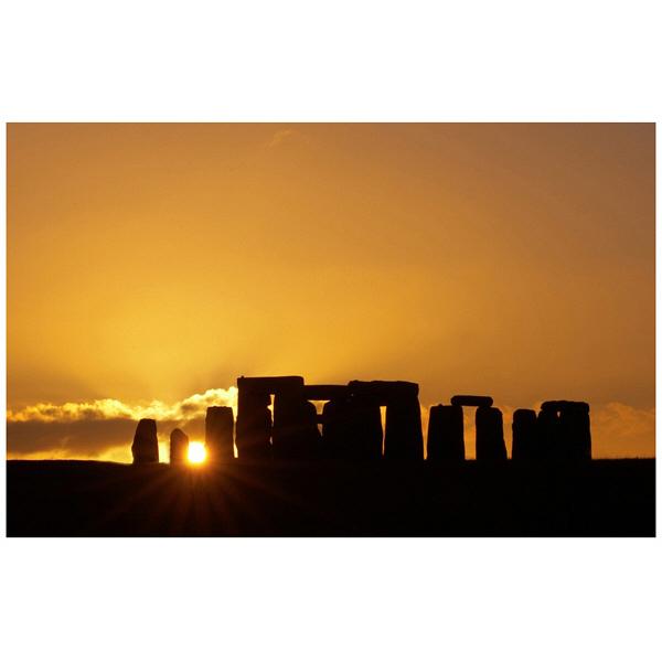 アートプリントジャパン 「Stonehenge at Sunset」 キャンバス/M 1枚