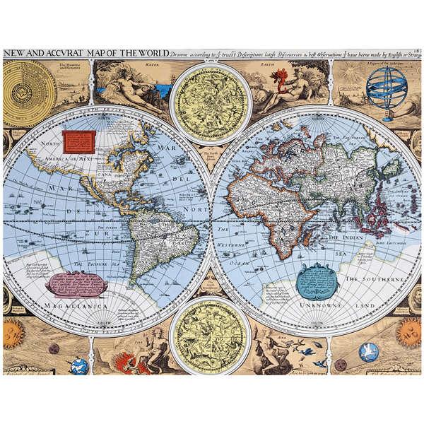 アートプリントジャパン 「Antique Maps」 キャンバス/M 1枚
