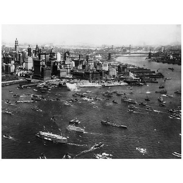 アートプリントジャパン 「ニューヨーク(1927年)」 キャンバス/L 1枚