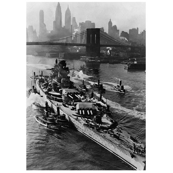 アートプリントジャパン 「ニューヨーク(1943年5月27日)」 キャンバス/S 1枚