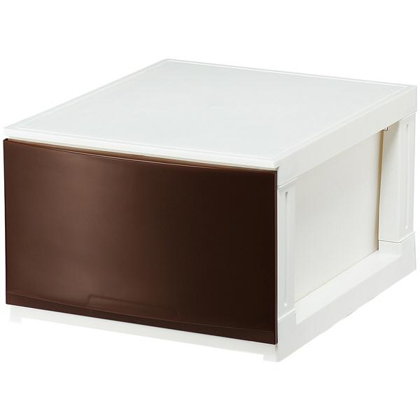 サンカ ルームス 1段 収納ボックス ブラウン RM-S341BR (直送品)