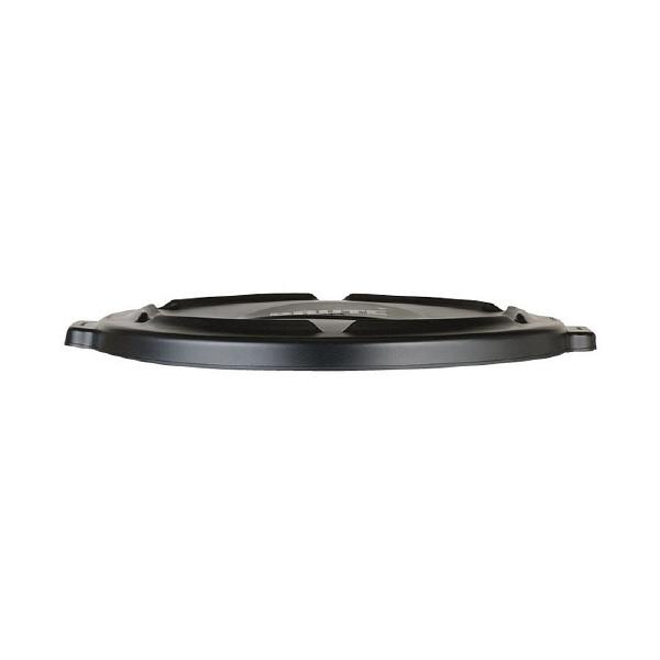 ラバーメイド ラウンドブルートコンテナ 166.5L用 フタ・ブラック (直送品)