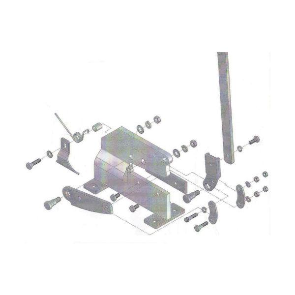 トラスコ中山(TRUSCO) TRUSCO P-1用六角ボルトNO.10 P1010 1個 450-7380(直送品)