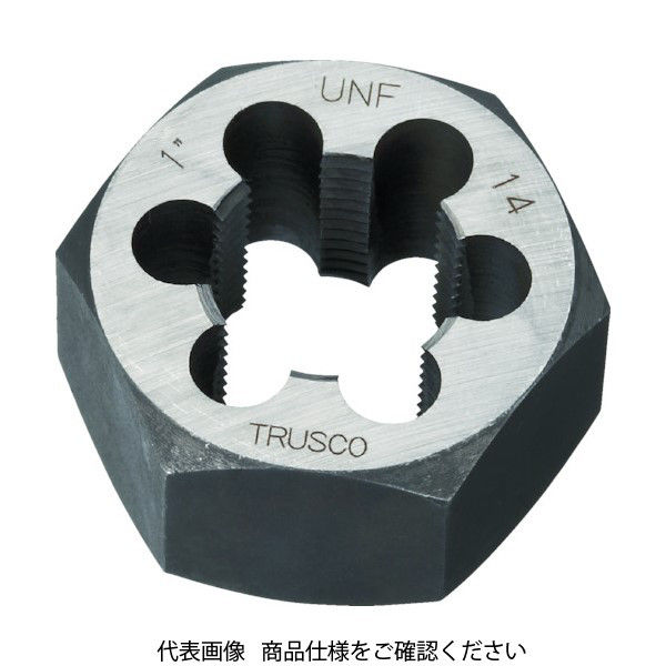 トラスコ中山(TRUSCO) TRUSCO 六角サラエナットダイス UNF5/8-18 TD6-5/8UNF18 1個 432-9520(直送品)