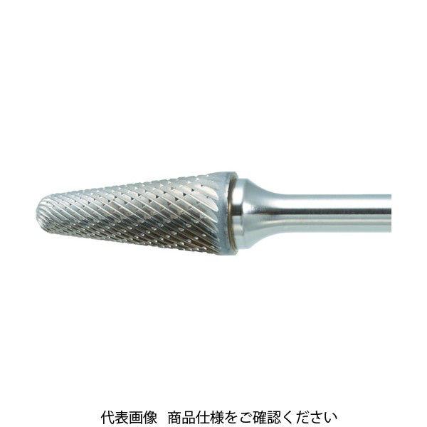 TRUSCO 超硬バー テーパー型 Φ9.5X刃長29X軸6 ロング シングル TB7C095SL150 436-5259(直送品)