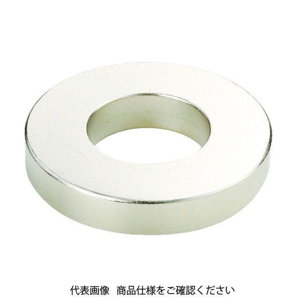 TRUSCO ネオジム磁石 外径10mmX穴径6mmX厚10mm(1個=1PK) TN10-6RA-1P 440-9493(直送品)