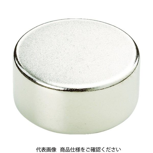 トラスコ中山(TRUSCO) TRUSCO ネオジム磁石 丸形 外径13mmX厚み10mm (1個=1PK) TN13-10R-1P 440-9400(直送品)