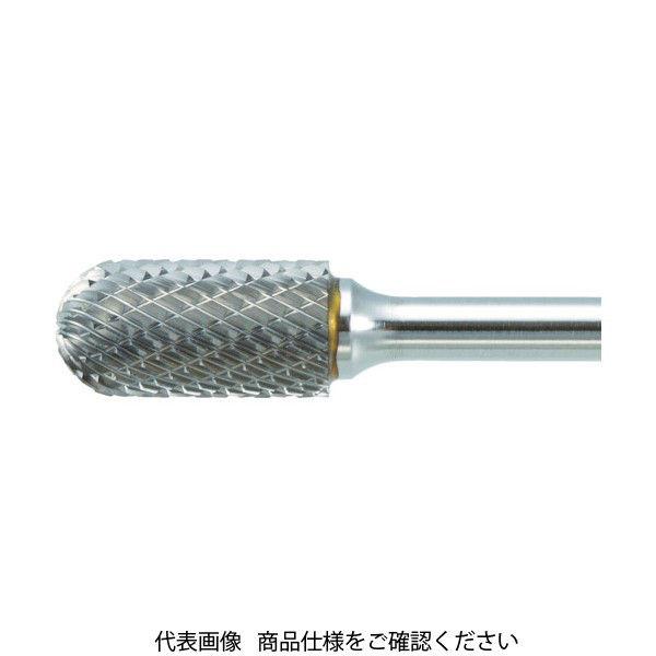TRUSCO 超硬バー 先丸円筒型 Φ12.7X刃長25X軸6 ロング シングル TB2C127SL150 436-4058(直送品)