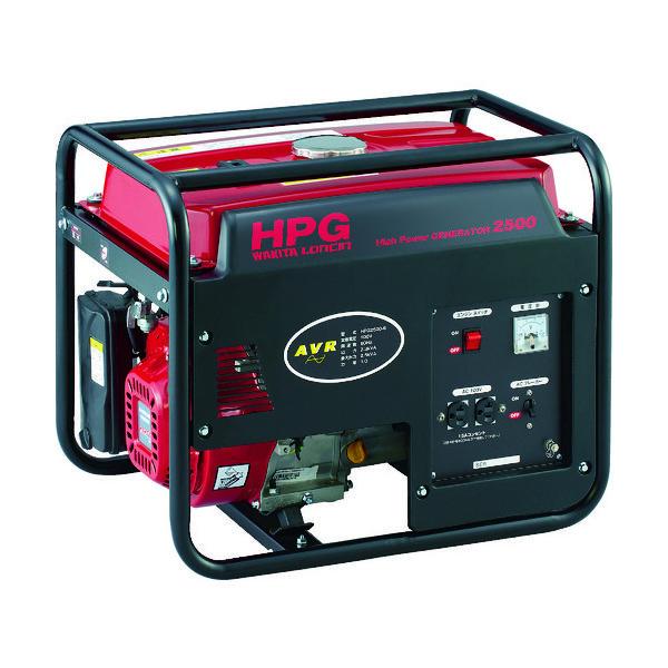 ワキタ MEIHO エンジン発電機 HPG-2500 60Hz HPG2500-60 1台 467-8885(直送品)