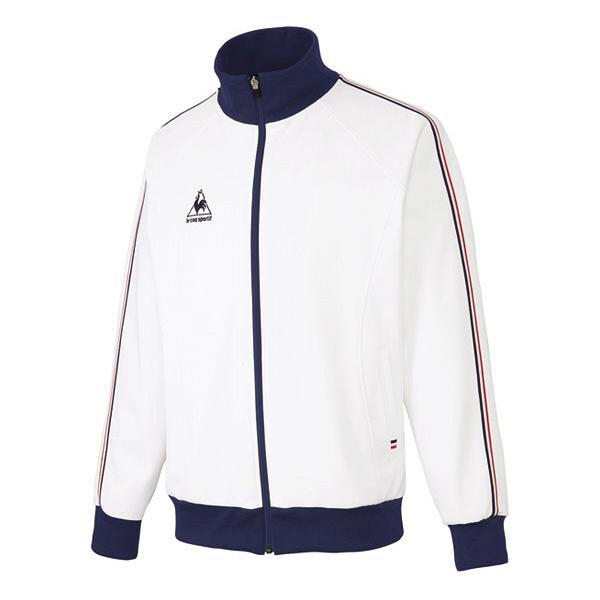 ルコックスポルティフ 介護ウェア ジャケット(男女兼用) ホワイト LL UZL1011 (直送品)