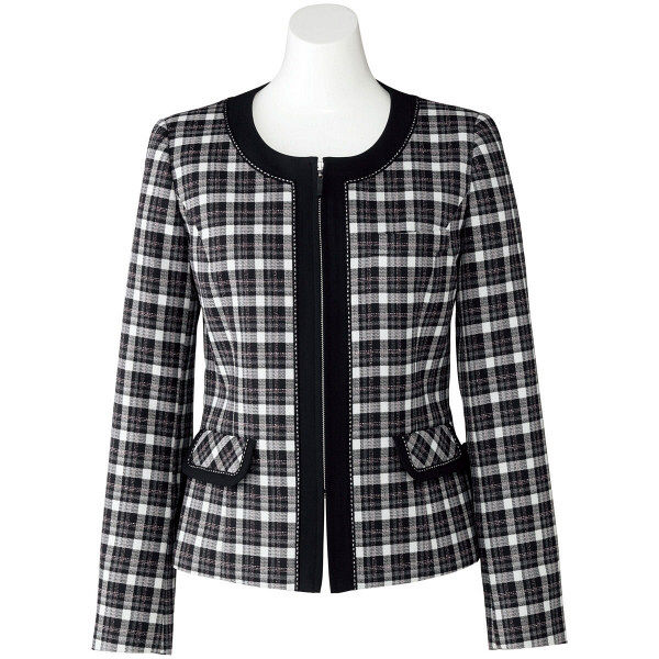 ボンマックス ジャケット ブラックXピンク 11号 LJ0163-30-11 1着(直送品)
