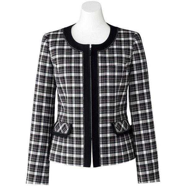 ボンマックス ジャケット ブラックXピンク 15号 LJ0163-30-15 1着(直送品)