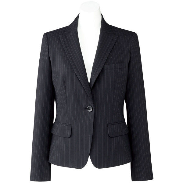 ボンマックス ジャケット ネイビーXグレイ 15号 AJ0246-28-15 1着(直送品)