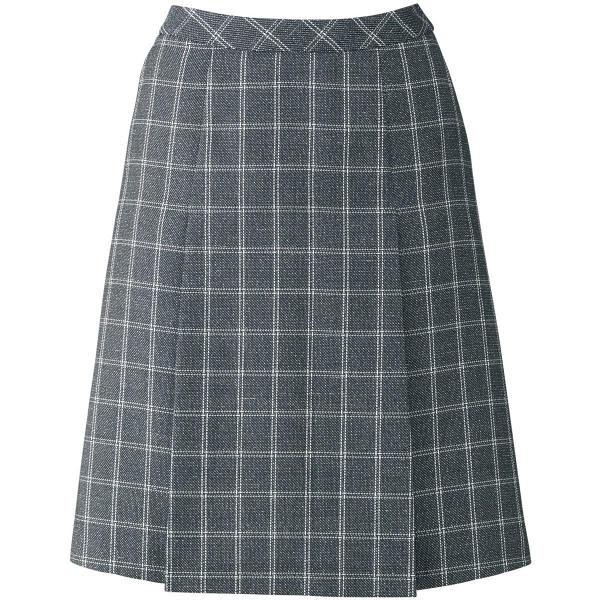 ボンマックス プリーツスカート ブルーグレイ 21号 LS2193-37-21 1着(直送品)
