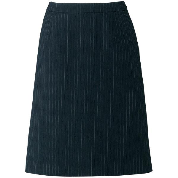 ボンマックス Aラインスカート ブラック×グレイ 7号 AS2284-30-7 1着(直送品)