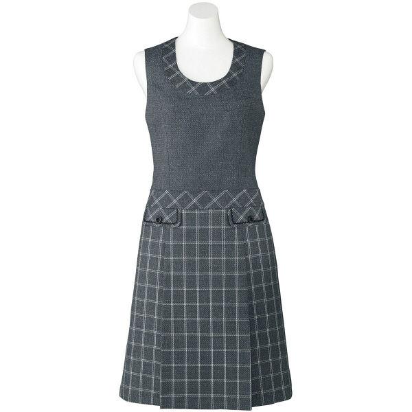 ボンマックス ジャンパースカート ブルーグレイ 15号 LO5103-37-15 1着(直送品)