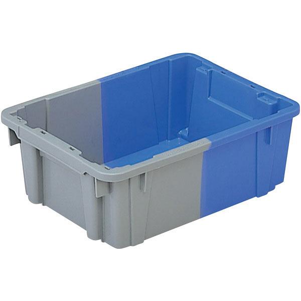 サンコー SNコンテナーB#9 9L ブルー/ライトグレー 102006 1箱(15個入) (直送品)