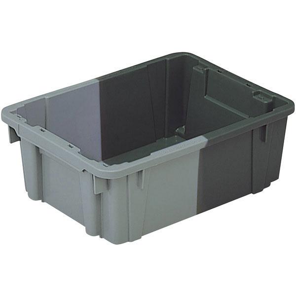 サンコー SNコンテナーB#9 9L グレー/ライトグレー 102006 1箱(15個入) (直送品)