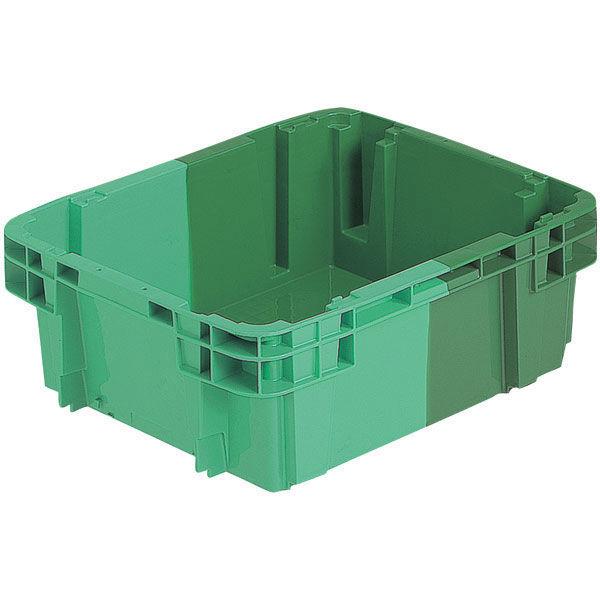 サンコー SNコンテナーB#20D 18.3L グリーン/グリーン 202018 1箱(10個入) (直送品)