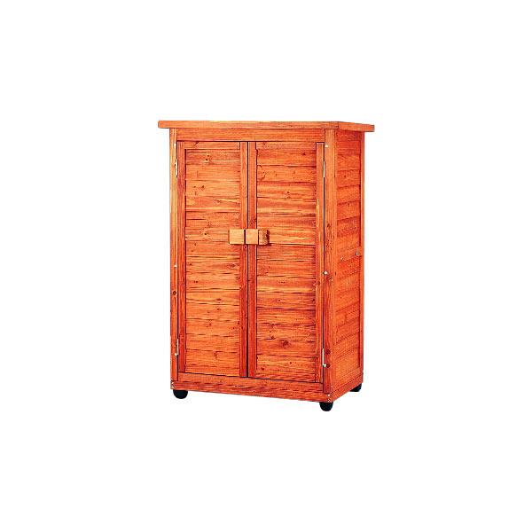 アイリスオーヤマ 木製物置トレー付 WSR-1207T 1台 (直送品)