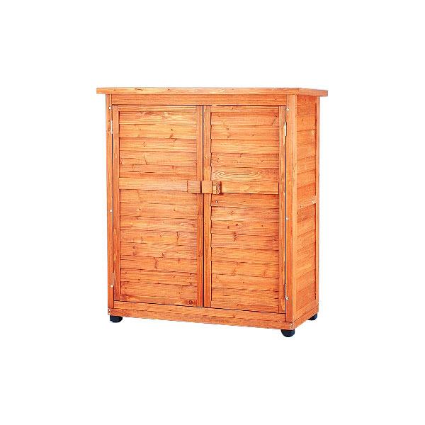 アイリスオーヤマ 木製物置トレー付