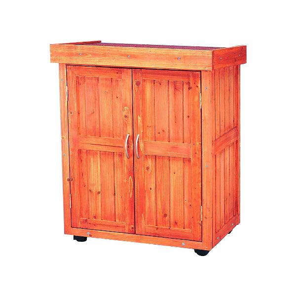 アイリスオーヤマ 木製物置
