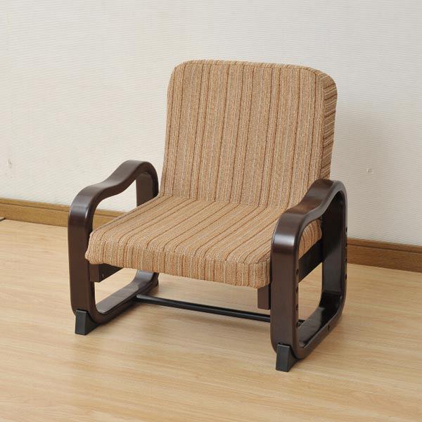 YAMAZEN(山善) 優しい座椅子 ブラウン 最大高:560mm 1脚 SKC-56H(VS1) (直送品)