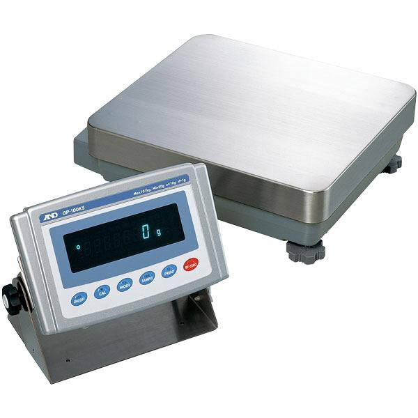 A&D 防塵・防水重量級天びん GP-100KS エー・アンド・デイ (直送品)
