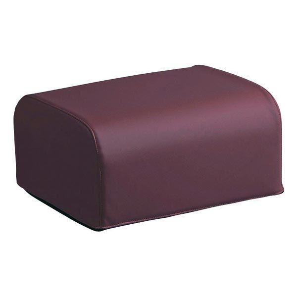 座椅子用オットマン ワインレッド