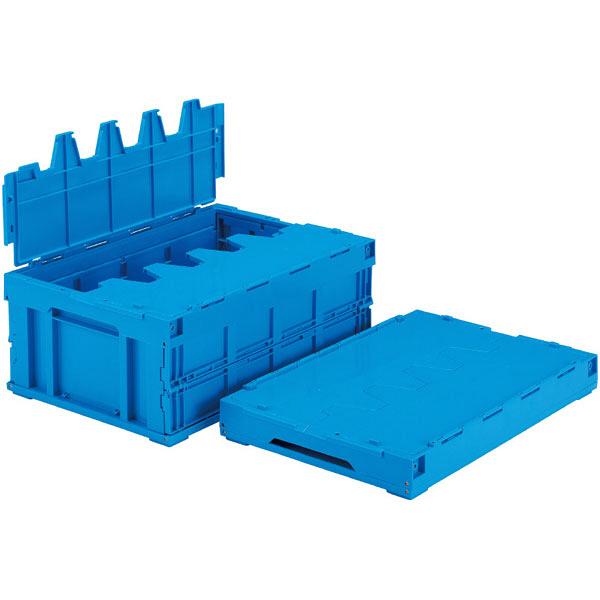 サンコー サンクレットオリコン 55B フタ一体型 55.3L ブルー (直送品)