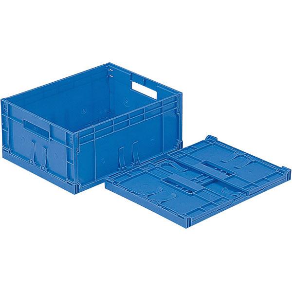 サンコー F-Box 112 無地 フタ無 13.9L ブルー (直送品)