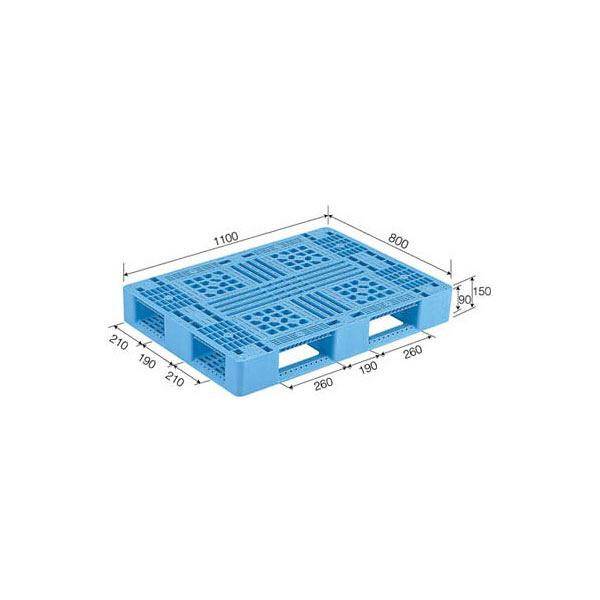 サンコー パレット D4-811 80880100BKRCP (直送品)