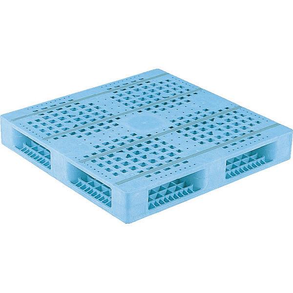 サンコー パレット R4-1010F (PE) 81000801BL502 (直送品)