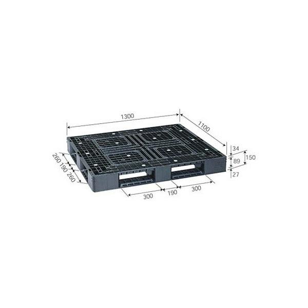 サンコー パレット D4-1113-3 81430600BKRCP (直送品)