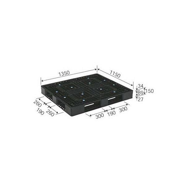 サンコー パレット D4-115135 81690900BKRCP (直送品)