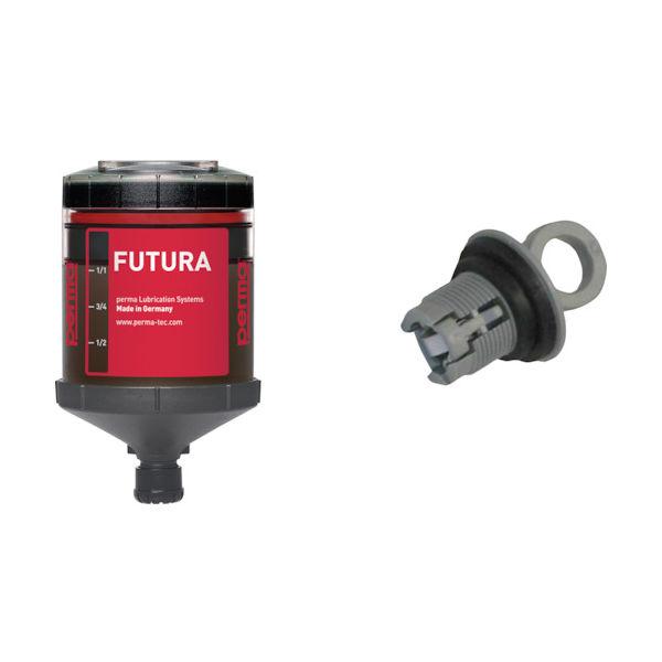 perma フューチャー 自動給油器 SF01 12ヶ月 標準グリス 120CC付き PF-SF01-12 448-0228(直送品)